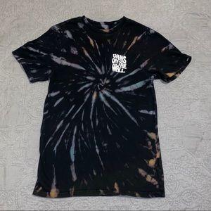 Vans reaper tie dye shirt sleeve t shirt